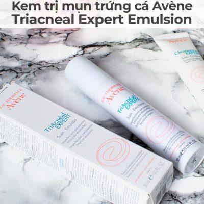 Kem trị mụn trứng cá Avène Triacneal Expert Emulsion-9