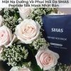 Mặt Nạ Dưỡng Và Phục Hồi Da SMAS Peptide Silk Mask Nhật Bản-11
