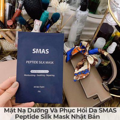 Mặt Nạ Dưỡng Và Phục Hồi Da SMAS Peptide Silk Mask Nhật Bản-14