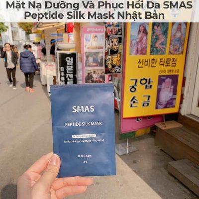 Mặt Nạ Dưỡng Và Phục Hồi Da SMAS Peptide Silk Mask Nhật Bản-18