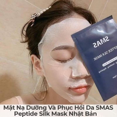 Mặt Nạ Dưỡng Và Phục Hồi Da SMAS Peptide Silk Mask Nhật Bản-3