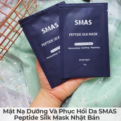 Mặt Nạ Dưỡng Và Phục Hồi Da SMAS Peptide Silk Mask Nhật Bản-6