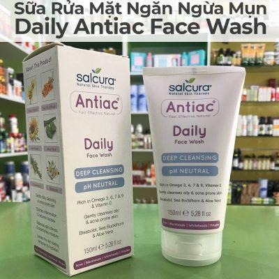 Sữa Rửa Mặt Ngăn Ngừa Mụn Trứng Cá Daily Antiac Face Wash-23