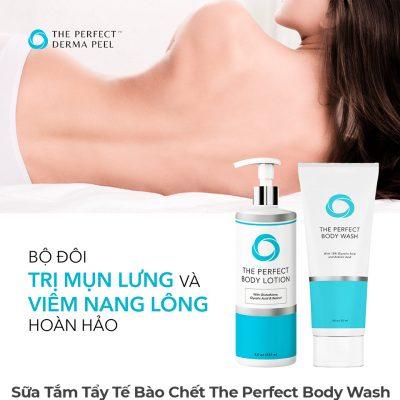 Sữa Tắm Tẩy Tế Bào Chết The Perfect Body Wash-5