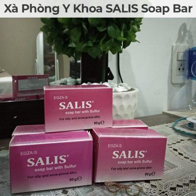 Xà phòng y khoa salis soap bar-11