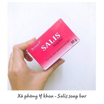 Xà phòng y khoa salis soap bar-12