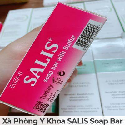 Xà phòng y khoa salis soap bar-13