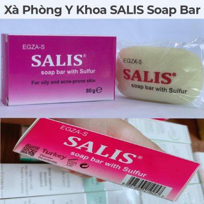 Xà phòng y khoa salis soap bar-3