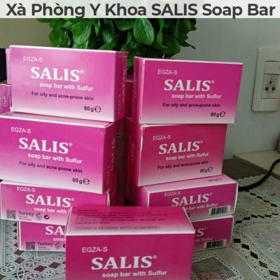 Xà phòng y khoa salis soap bar-5