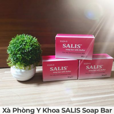 Xà phòng y khoa salis soap bar-9