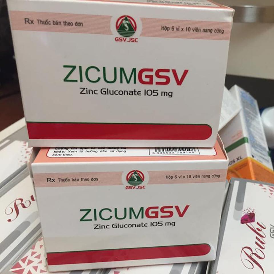 Viên Uống Bổ Sung Kẽm Zicum GSV-3