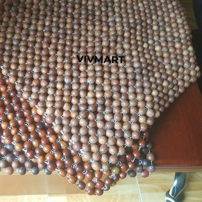 đệm ghế văn phòng hạt gỗ hương xám-1