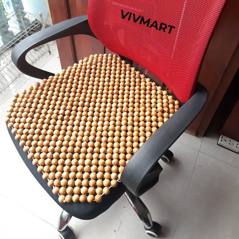 đệm ghế văn phòng hạt pơ mu-1