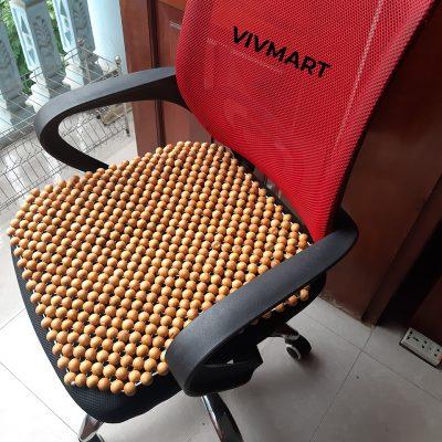 đệm ghế văn phòng hạt pơ mu-2
