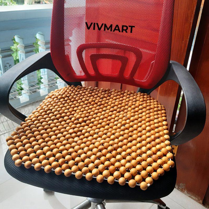 đệm ghế văn phòng hạt pơ mu-3