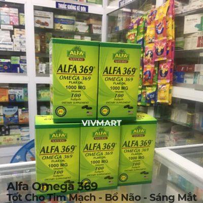 Alfa Omega 369 - Tốt Cho Tim Mạch Bổ Não Sáng Mắt-11a