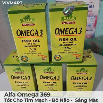 Alfa Omega 369 - Tốt Cho Tim Mạch Bổ Não Sáng Mắt-15a
