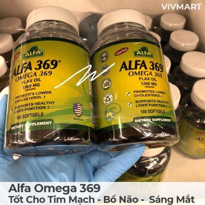 Alfa Omega 369 - Tốt Cho Tim Mạch Bổ Não Sáng Mắt-17a