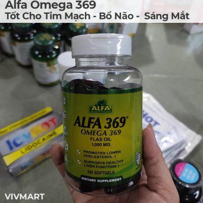 Alfa Omega 369 - Tốt Cho Tim Mạch Bổ Não Sáng Mắt-20a