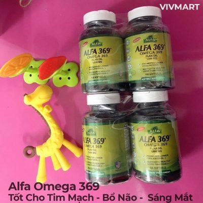 Alfa Omega 369 - Tốt Cho Tim Mạch Bổ Não Sáng Mắt-22a