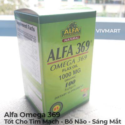 Alfa Omega 369 - Tốt Cho Tim Mạch Bổ Não Sáng Mắt-3a