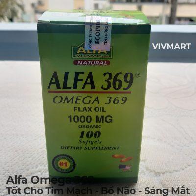 Alfa Omega 369 - Tốt Cho Tim Mạch Bổ Não Sáng Mắt-4a