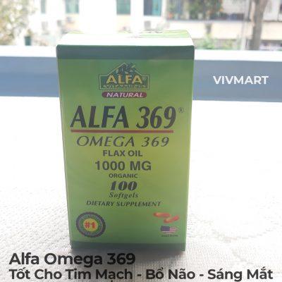 Alfa Omega 369 - Tốt Cho Tim Mạch Bổ Não Sáng Mắt-5a