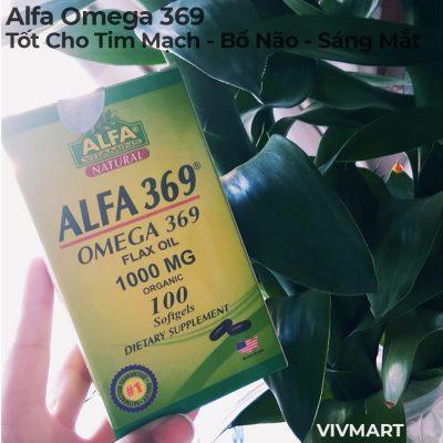 Alfa Omega 369 - Tốt Cho Tim Mạch Bổ Não Sáng Mắt-8a