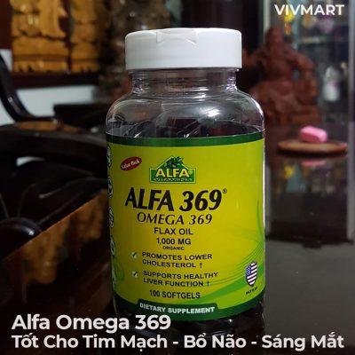 Alfa Omega 369 - Tốt Cho Tim Mạch Bổ Não Sáng Mắt-9a