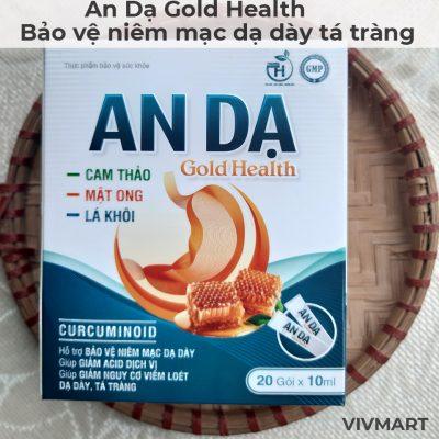 An Dạ Gold Health - bảo vệ niêm mạc dạ dày tá tràng-10a