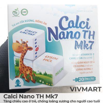 Calci Nano TH Mk7 - Tăng chiều cao ở trẻ, chống loãng xương cho người cao tuổi-12a