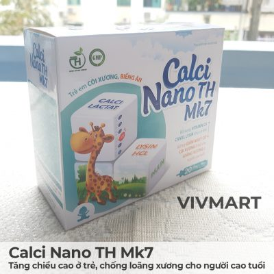 Calci Nano TH Mk7 - Tăng chiều cao ở trẻ, chống loãng xương cho người cao tuổi-14a