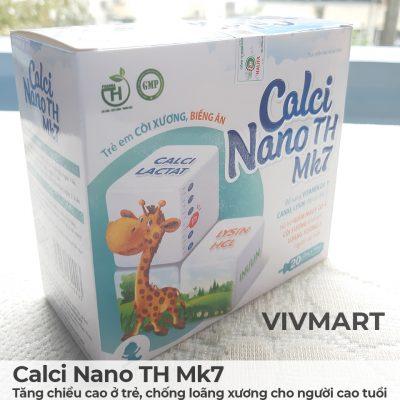 Calci Nano TH Mk7 - Tăng chiều cao ở trẻ, chống loãng xương cho người cao tuổi-16a