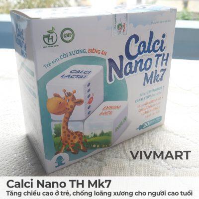 Calci Nano TH Mk7 - Tăng chiều cao ở trẻ, chống loãng xương cho người cao tuổi-17a