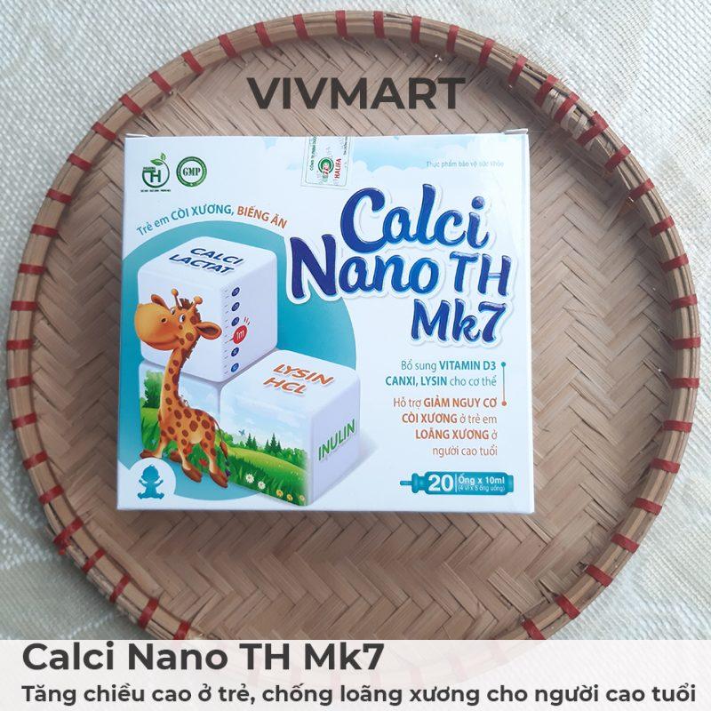 Calci Nano TH Mk7 - Tăng chiều cao ở trẻ, chống loãng xương cho người cao tuổi-18a