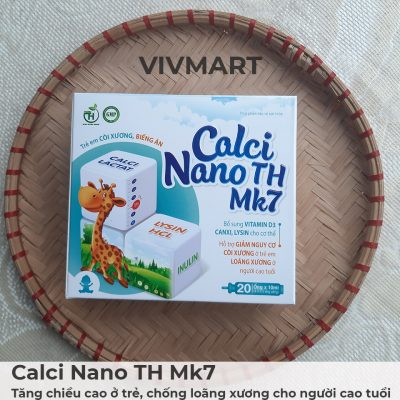 Calci Nano TH Mk7 - Tăng chiều cao ở trẻ, chống loãng xương cho người cao tuổi-19a