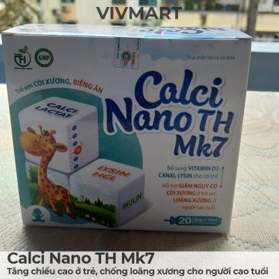 Calci Nano TH Mk7 - Tăng chiều cao ở trẻ, chống loãng xương cho người cao tuổi-1a