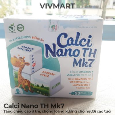 Calci Nano TH Mk7 - Tăng chiều cao ở trẻ, chống loãng xương cho người cao tuổi-2a