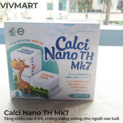 Calci Nano TH Mk7 - Tăng chiều cao ở trẻ, chống loãng xương cho người cao tuổi-3a