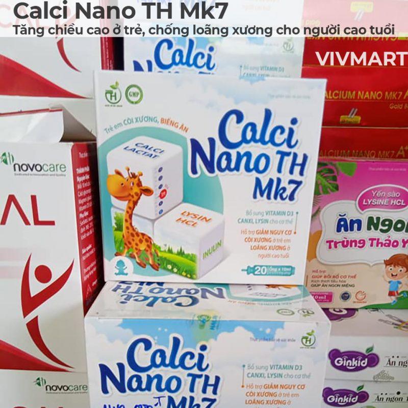 Calci Nano TH Mk7 - Tăng chiều cao ở trẻ, chống loãng xương cho người cao tuổi-5a