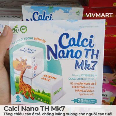 Calci Nano TH Mk7 - Tăng chiều cao ở trẻ, chống loãng xương cho người cao tuổi-6a