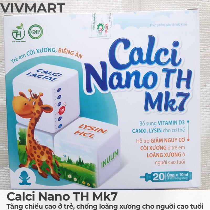 Calci Nano TH Mk7 - Tăng chiều cao ở trẻ, chống loãng xương cho người cao tuổi-9a