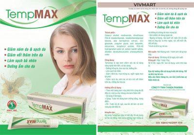 Kem Tẩy Nám và Dưỡng Trắng Da Tempmax-3