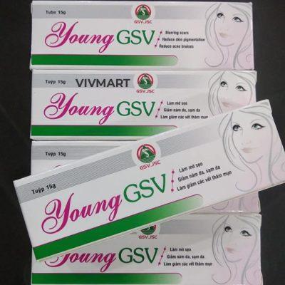 Kem Trị Sẹo Thâm Và Vết Đỏ Trên Da Young GSV-16