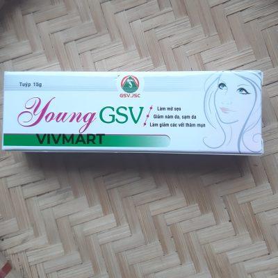 Kem Trị Sẹo Thâm Và Vết Đỏ Trên Da Young GSV-4