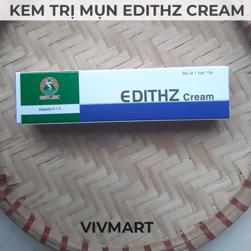 Kem trị mụn trứng cá edithz-1a