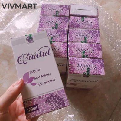 Sữa Rửa Mặt Ngăn Ngừa Mụn Giảm Dầu Quatid-10