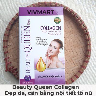 Beauty Queen Collagen - Đẹp da, cân bằng nội tiết tố nữ-26A