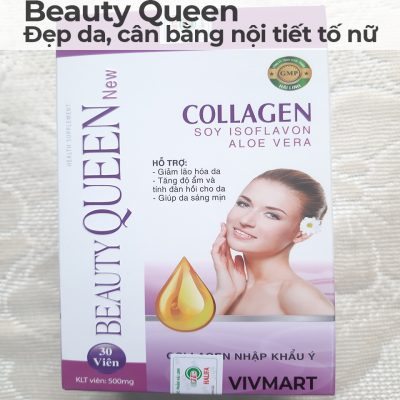 Beauty Queen Collagen - Đẹp da, cân bằng nội tiết tố nữ-3A
