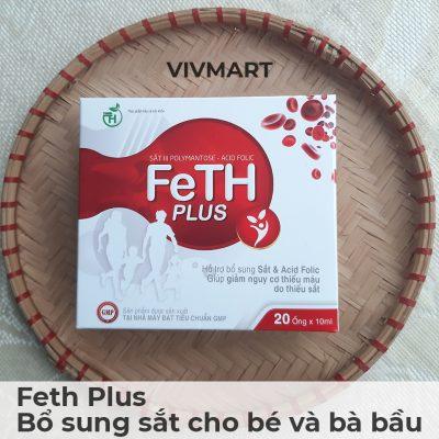 Feth Plus - Bổ sung sắt cho bé và bà bầu-1a